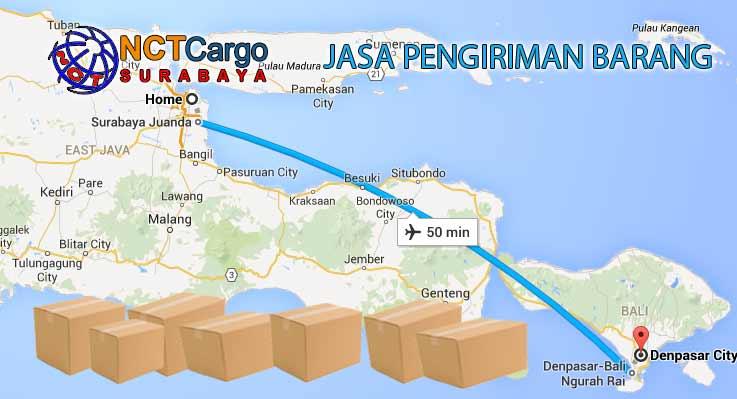 jasa pengiriman barang surabaya denpasar