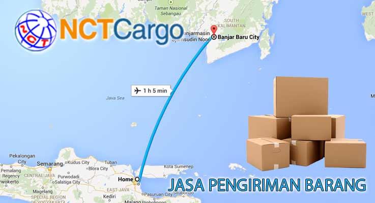 jasa pengiriman barang Surabaya Banjarbaru