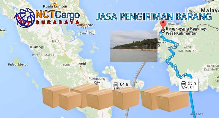 Jasa Pengiriman Barang Surabaya Bengkayang Kalbar
