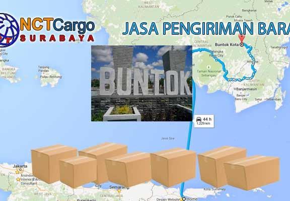 Jasa Pengiriman Barang Surabaya Buntok