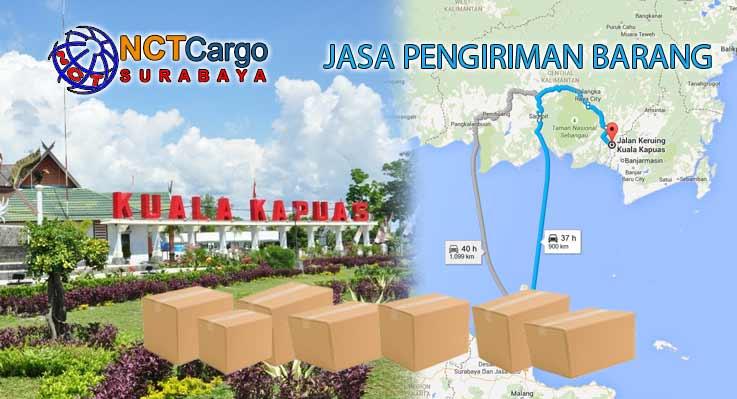 Jasa Pengiriman Barang Surabaya Kuala Kapuas Kalteng