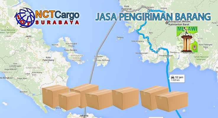 Jasa Pengiriman Barang Surabaya Melawi Kalbar