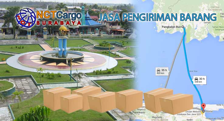 Jasa Pengiriman Barang Surabaya Pangkalan Bun