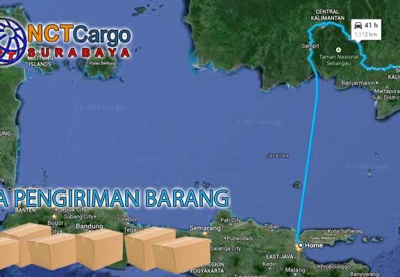 jasa pengiriman barang Surabaya Paringin