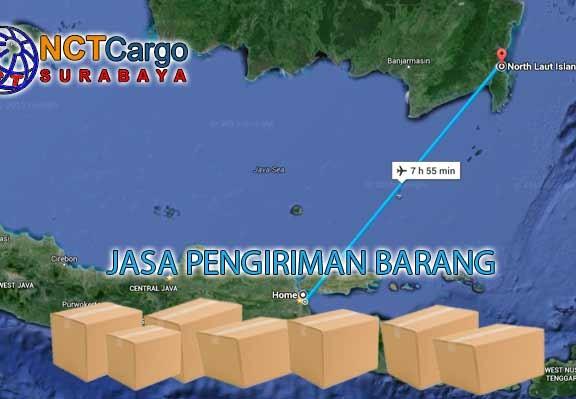 jasa pengiriman barang surabaya pulau laut