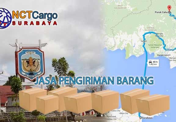 Jasa Pengiriman Barang Surabaya Puruk Cahu