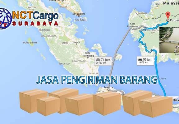 Jasa Pengiriman Barang Surabaya Putussibau