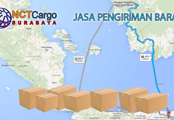 Jasa Pengiriman Barang Surabaya Sanggau