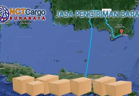 Jasa Pengiriman Barang Surabaya Satui