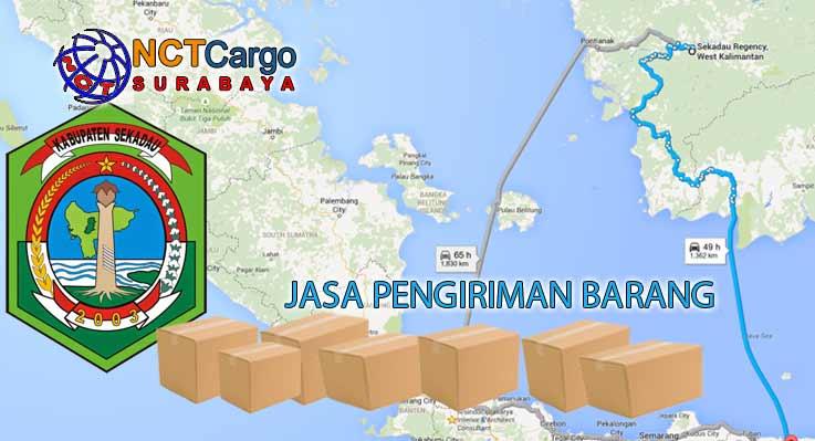 Jasa Pengiriman Barang Surabaya Sekadau Kalbar