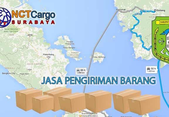 Jasa Pengiriman Barang Surabaya Sintang
