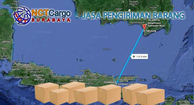 Jasa Pengiriman Barang Surabaya Takisung