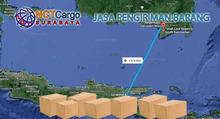 jasa pengiriman barang surabaya tanah laut