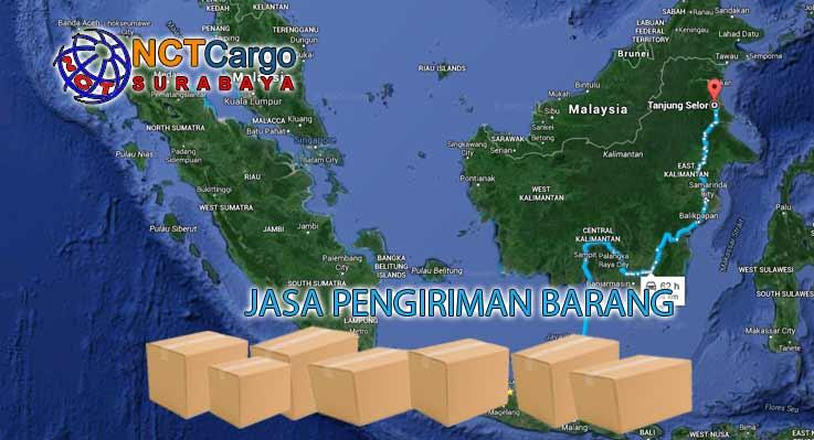Jasa Pengiriman Barang Surabaya Tanjung Selor Kalimantan Utara