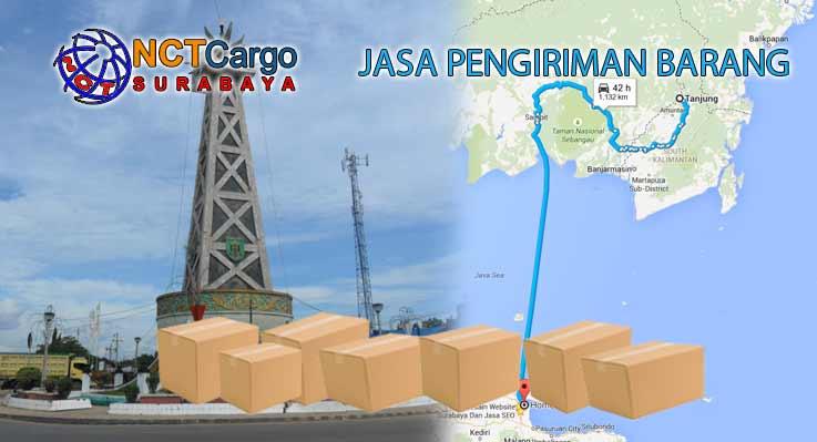 Jasa Pengiriman Barang Surabaya Tanjung Kalsel