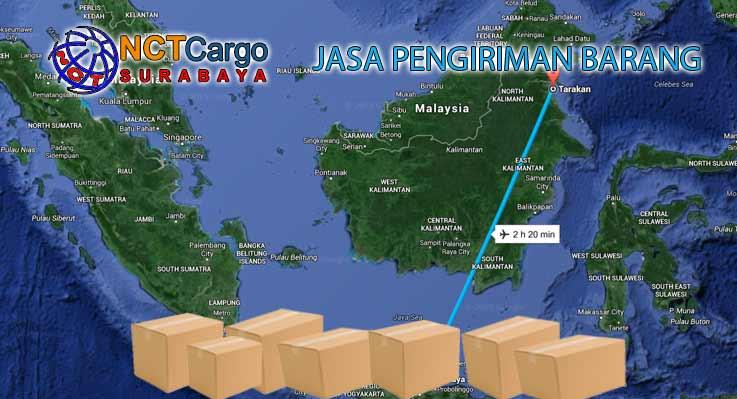 Jasa Pengiriman Barang Surabaya Tarakan