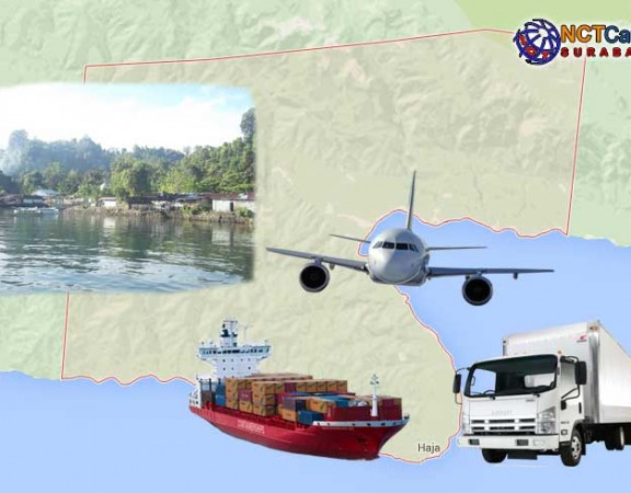 jasa pengiriman barang Surabaya Tehoru