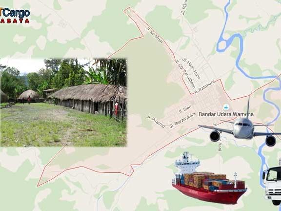 Jasa Pengiriman Barang Surabaya Wamena