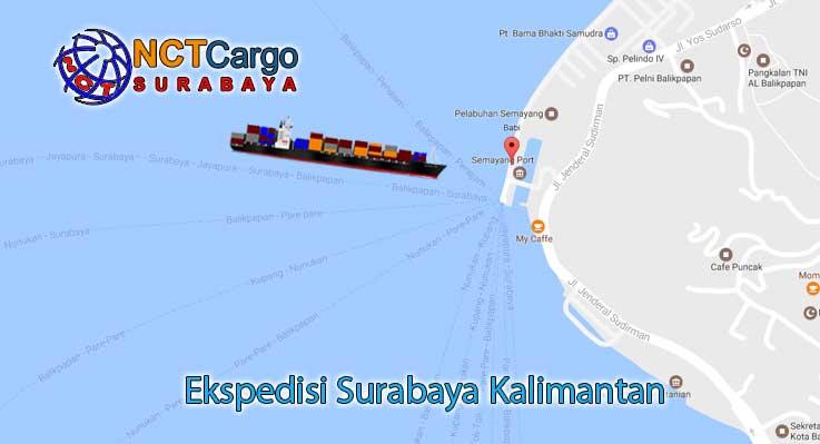 Jasa Pengiriman Barang Surabaya ke Balai Karangan Kalbar