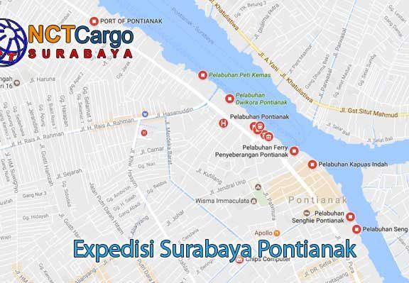 Expedisi Surabaya Pontianak