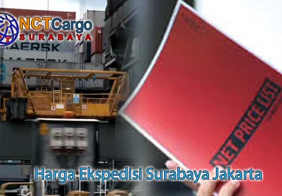 Harga Ekspedisi Surabaya Jakarta
