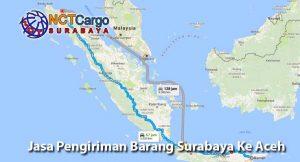 Jasa Pengiriman Barang Surabaya Ke Aceh