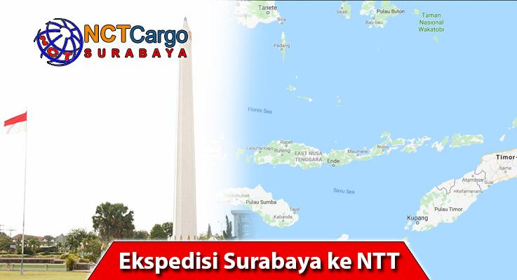 Ekspedisi Surabaya ke NTT