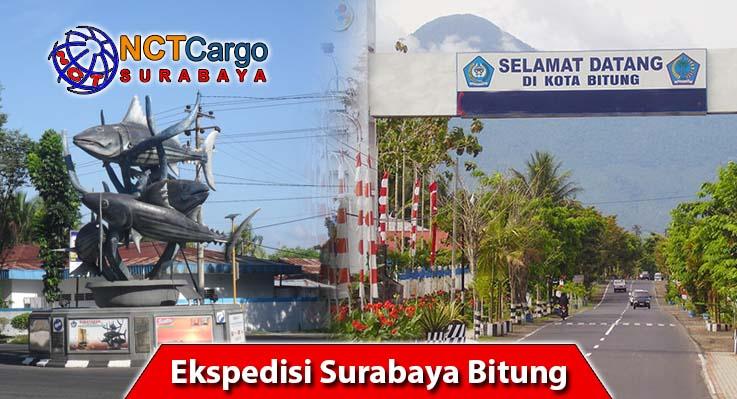 jasa pengiriman barang Surabaya ke Bitung