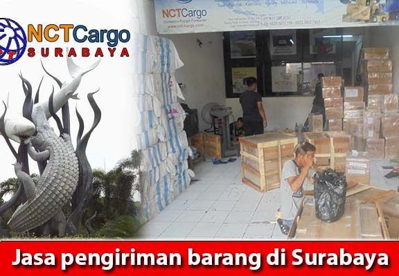 Jasa pengiriman barang di Surabaya