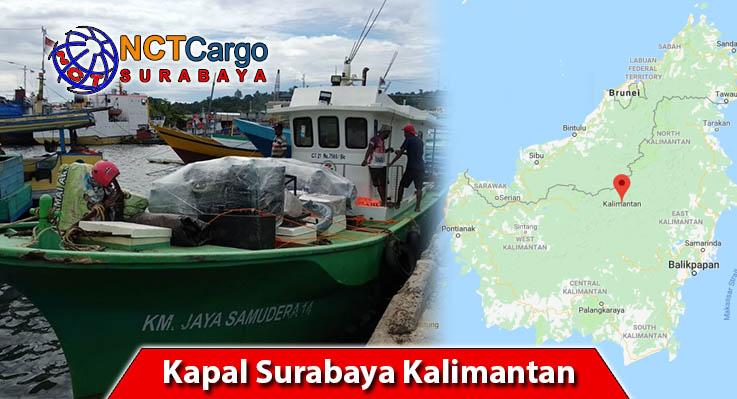 Kapal Surabaya Kalimantan