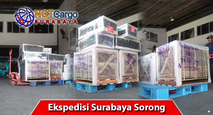 jasa pengiriman barang Surabaya ke Sorong