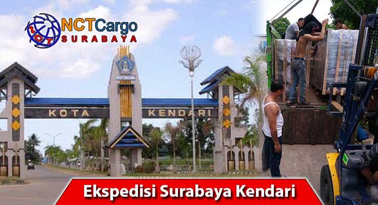jasa pengiriman barang Surabaya ke Kendari