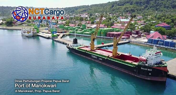jasa pengiriman barang Surabaya ke Manokwari