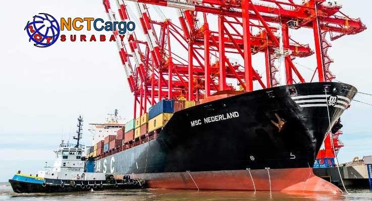 cargo port to port surabaya