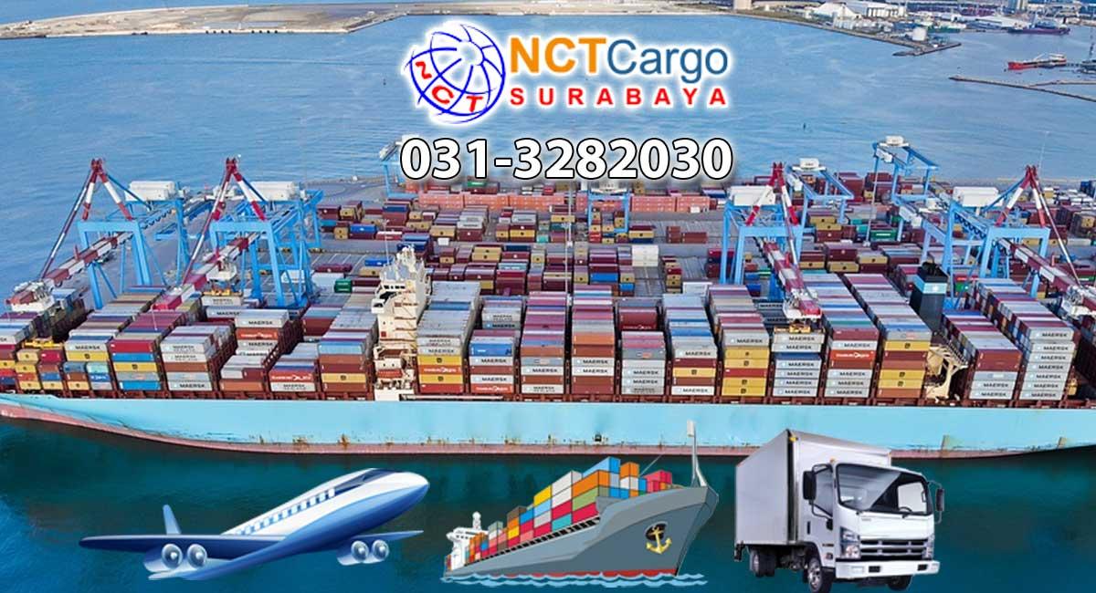 jasa pengiriman barang Surabaya ke Kariatu