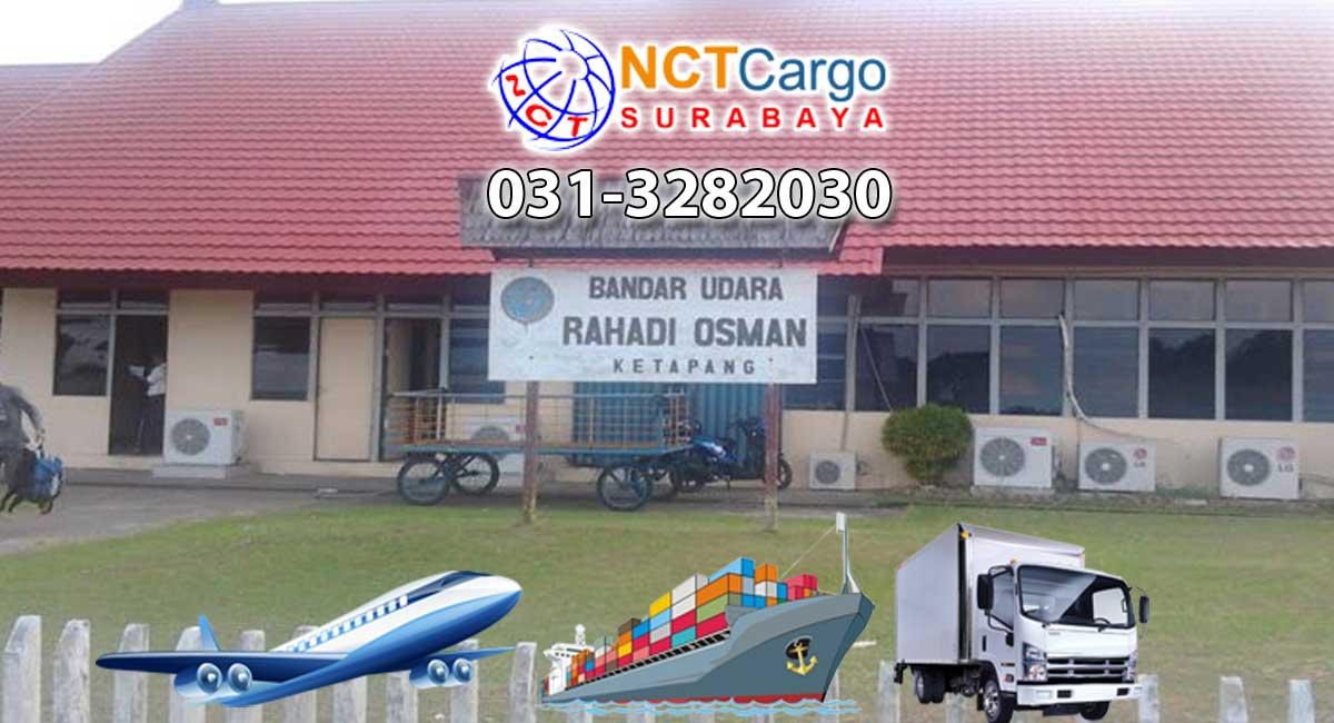 jasa pengiriman barang Surabaya ke Ketapang
