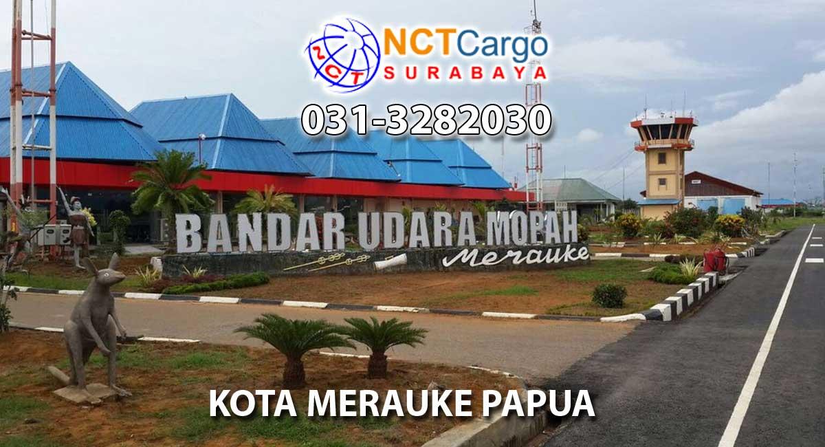 jasa pengiriman barang Surabaya ke Merauke