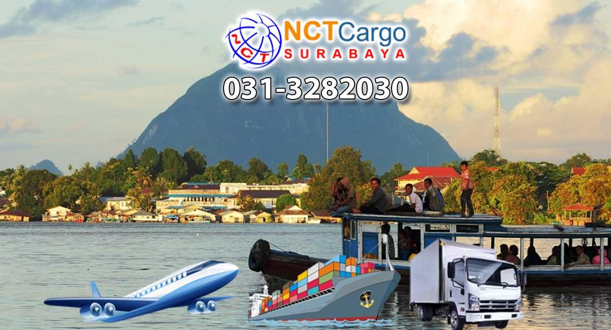 jasa pengiriman barang Surabaya ke Sintang