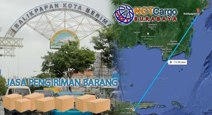 Jasa Pengiriman Barang Surabaya ke Balikpapan