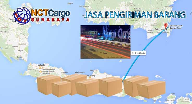 Jasa Pengiriman Barang Surabaya Batu Licin