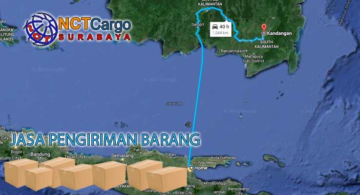 Jasa Pengiriman Barang Surabaya Kandangan