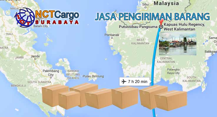 Jasa Pengiriman Barang Surabaya Ke Kapuas Hulu Kalbar