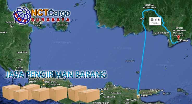 Jasa Pengiriman Barang Surabaya Kintap