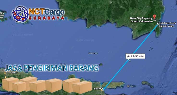 Jasa Pengiriman Barang Surabaya Kotabaru