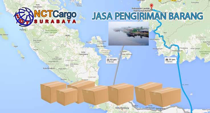 Jasa Pengiriman Barang Surabaya Landak