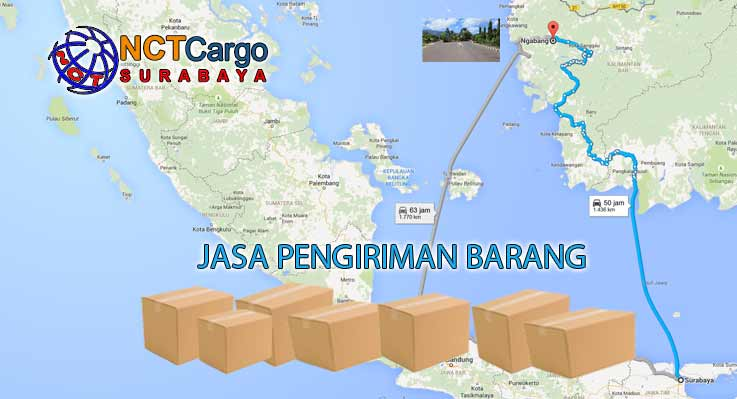 Jasa Pengiriman Barang Surabaya Ngabang