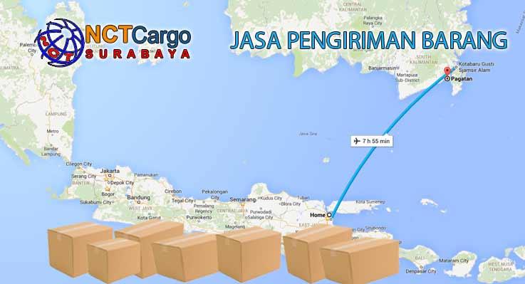 Jasa Pengiriman Barang Surabaya ke Pagatan