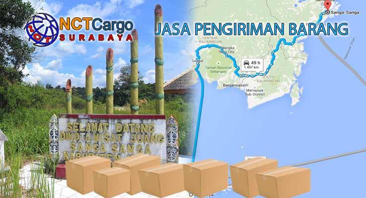 Jasa Pengiriman Barang Surabaya Sanga-Sanga