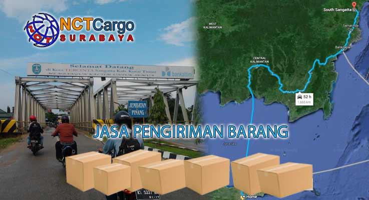 Jasa Pengiriman Barang Surabaya Sangatta