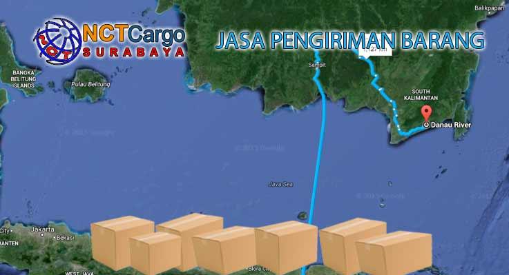 Jasa Pengiriman Barang Surabaya ke Sungai Danau